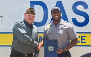 Devonte Perry named Emergency Medical Technician of the Year!