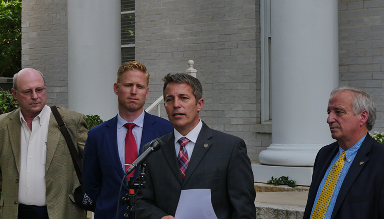 FULL VIDEO: Rep. Ed Henry tears up qualifying paperwork, vows to pursue Luther Strange corruption case