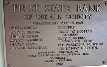 DeKalb County's largest bank turns 35!