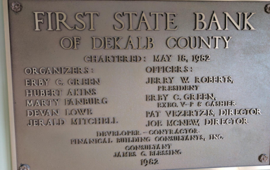 DeKalb County's largest bank turns 35!