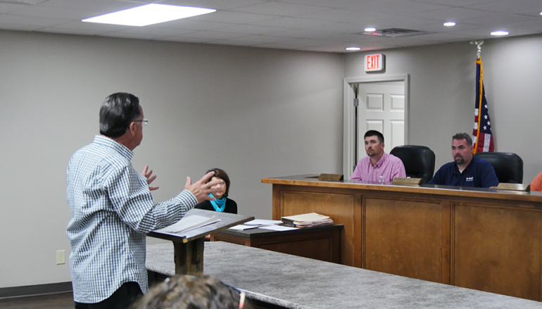 VIDEO: Dog Attack Victim addresses the Rainsville Council; Council Passes Ordinance
