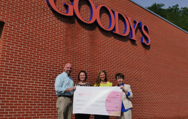 Fort Payne Goody's makes donation to the Children's Advocacy Center