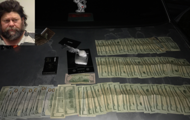 Boaz man arrested near Crossville last night for trafficking Methamphetamine