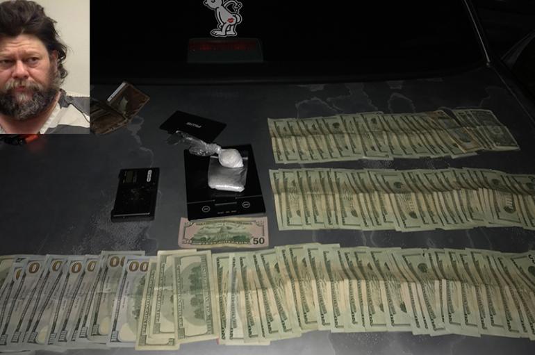 Boaz man arrested near Crossville last night for trafficking Methamphetamine