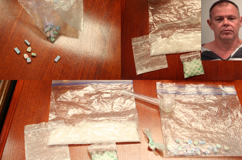 Large amount of Ecstasy and Meth found in Flat Rock traffic stop