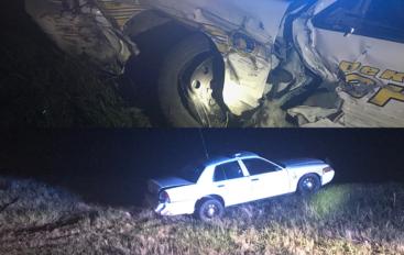 DeKalb County Deputy involved in wreck on Highway 68