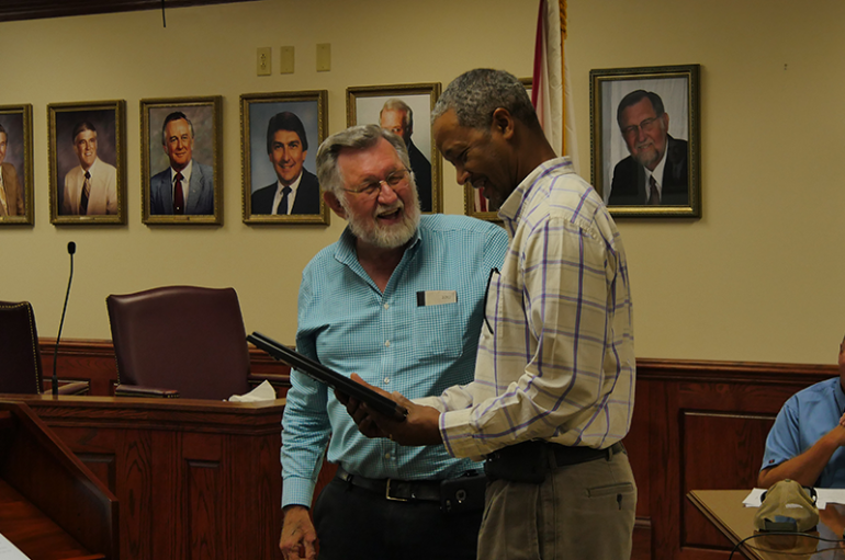 VIDEO: Fort Payne City Council honors former-Councilman Walter Watson