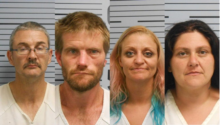 Meth, stolen property, and handguns found after search warrant in Rosalie