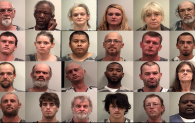 DeKalb Co. Sheriff's Office and local police departments conduct warrant round-up