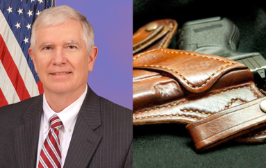Brooks introduces bill to allow federal lawmakers to conceal carry