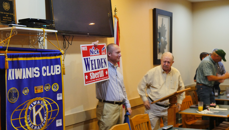 VIDEO: Valley Head Police Chief Nick Welden Announces sheriff's Campaign!