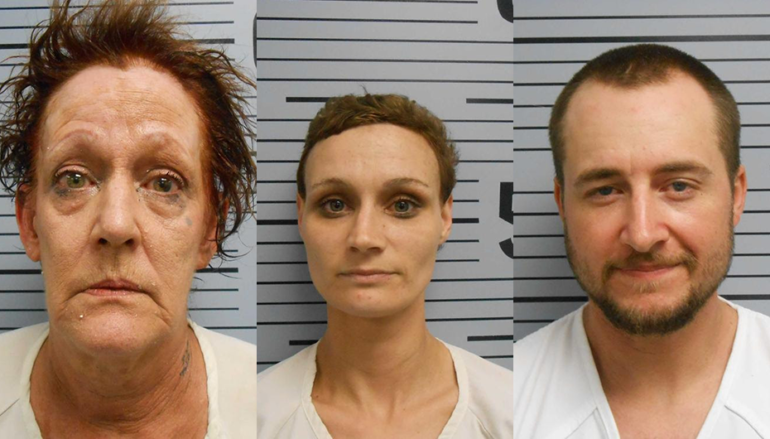 Three arrested in Section after deputies find drugs while serving warrant