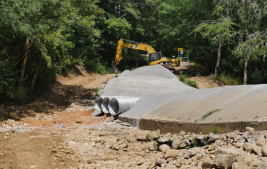 VIDEO: Progress being made at Buck's Pocket State Park