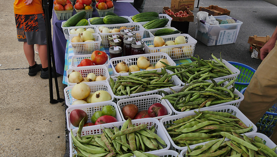 Fort Payne Main Street Farmer's Market begins Wednesday hours
