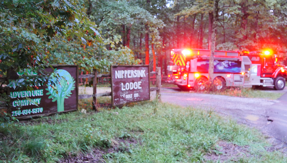 Fire claims cottage at Nippersink Lodge near DeSoto Falls