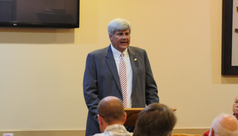 VIDEO: U.S. Senate Candidate Trip Pittman addresses local Republicans