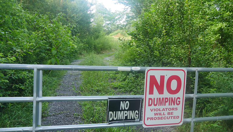 """VIDEO: City of Rainsville to begin cleanup of """"unauthorized dump"""""""