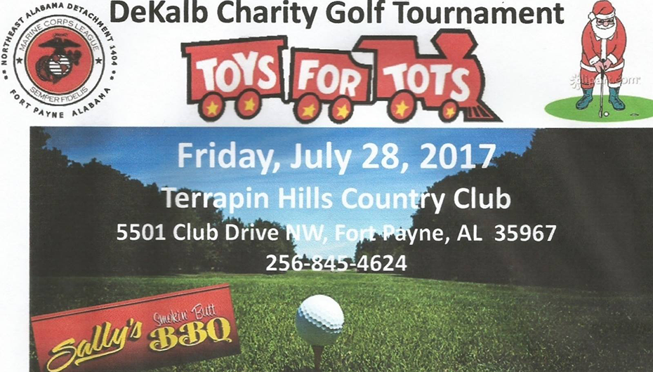 Come support 'Toys for Tots' in a benefit golf tournament!