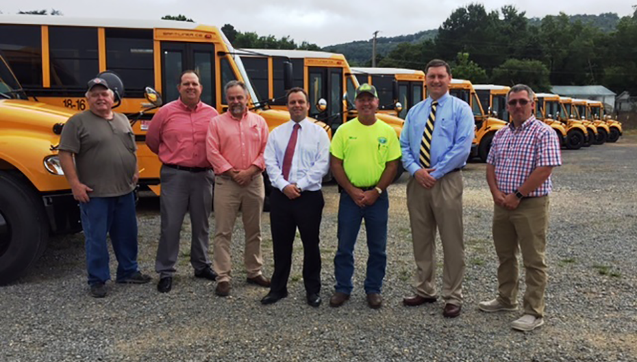 12 new buses take to the roads for DeKalb County Schools