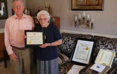 Sand Mountain couple honored for 68 years of Marriage!