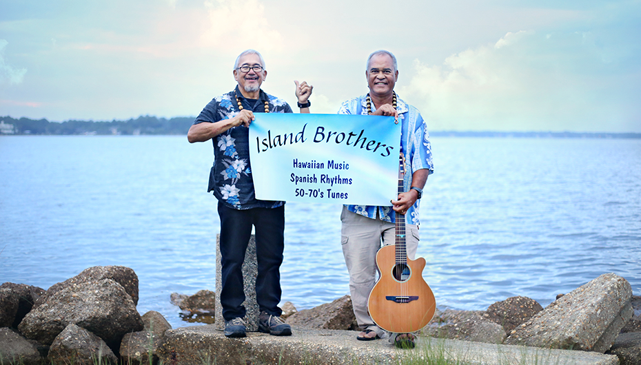 Mentone Arts and Cultural Center presents the Island Brothers tonight!