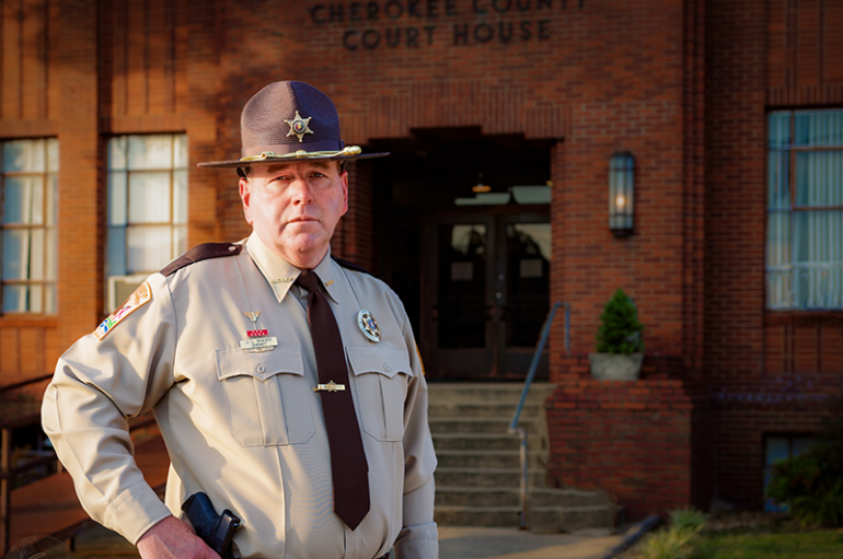 Shaver announces re-election bid for Cherokee County Sheriff