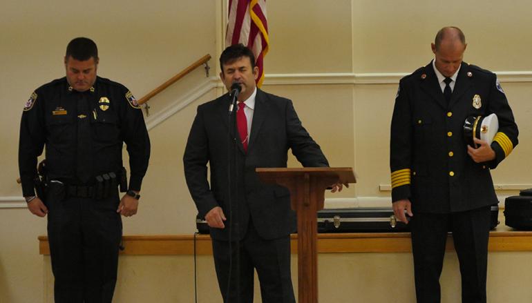 Rainsville holds September 11th Memorial Service