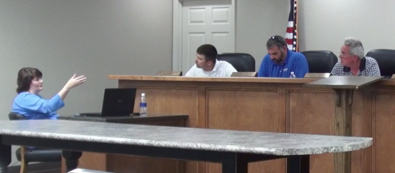 VIDEO: Tempers flare at Rainsville Budget Meeting