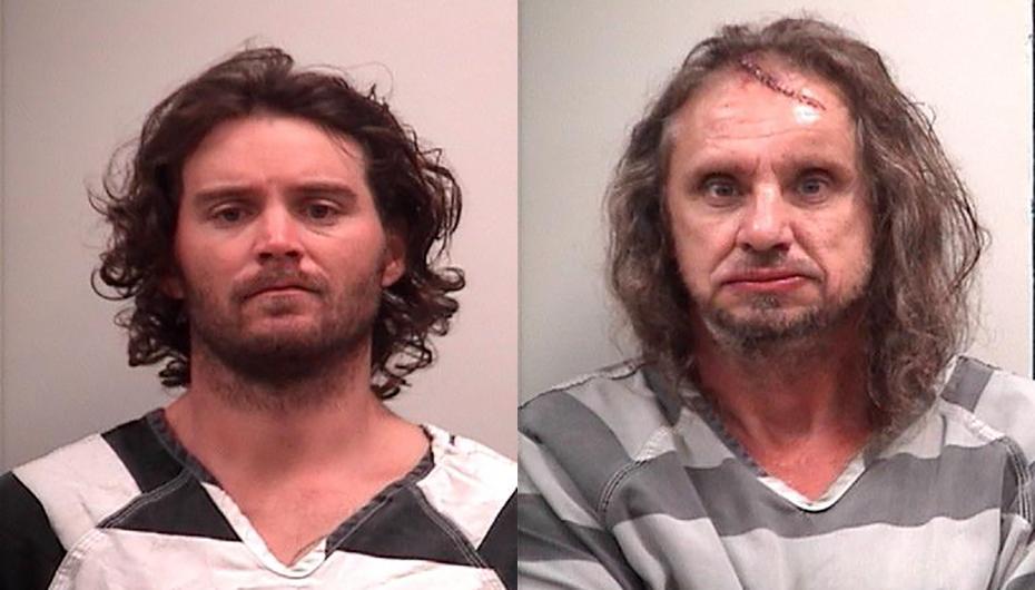 Deputies make arrest on burglary warrant, second arrested after running through fence in Fyffe