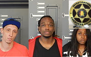 Cherokee Co. Deputies Arrest Three for Trafficking Meth