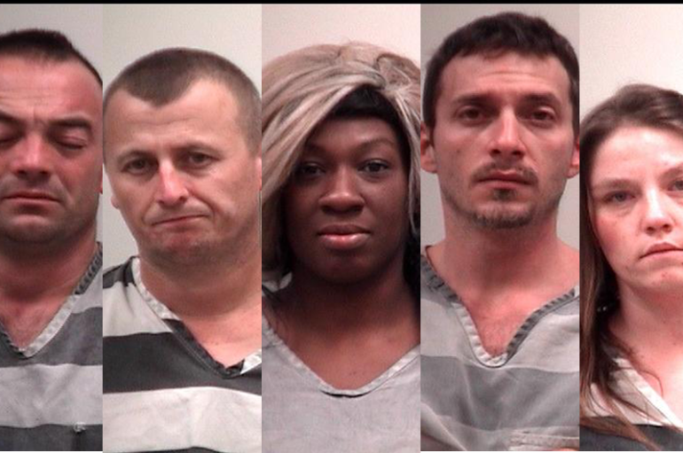 Several arrested for burglary, drugs; domestic incident under investigation