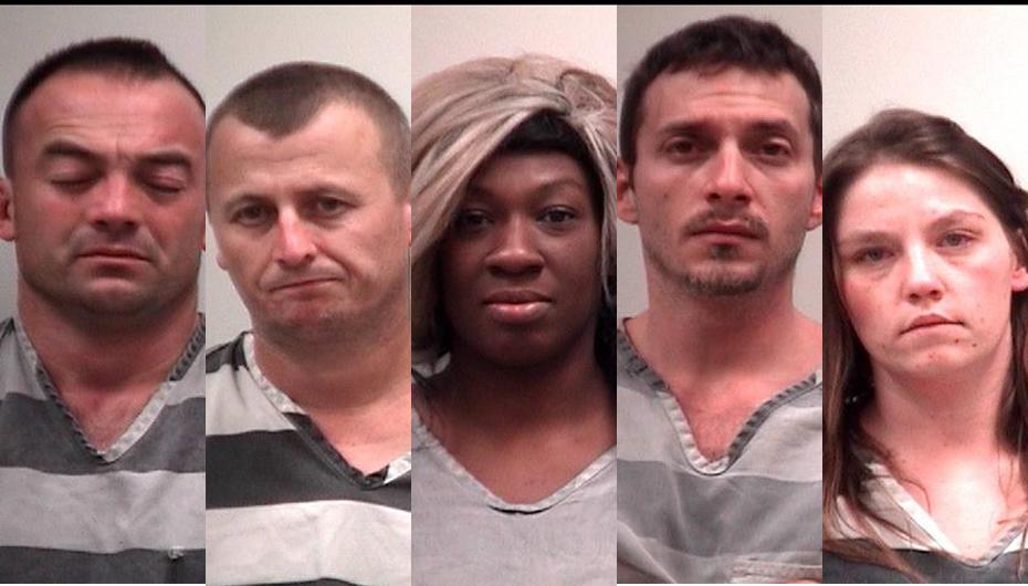 Several arrested for burglary, drugs; domestic incident under investigation