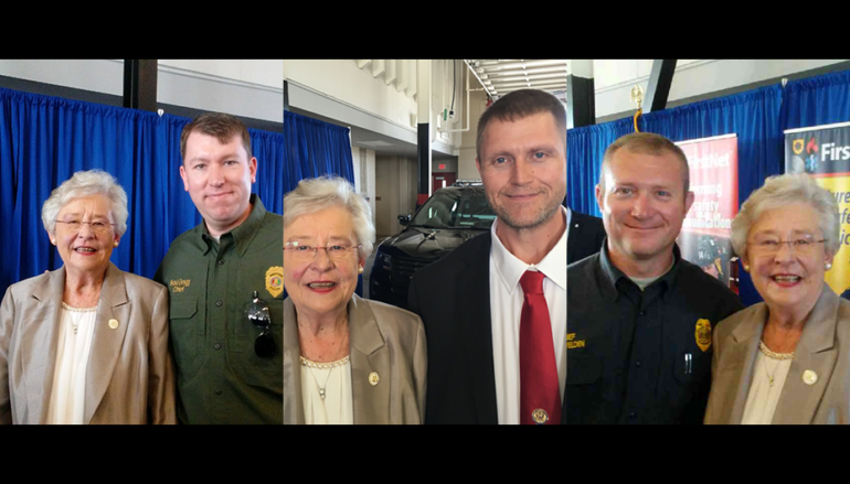 Locals meet with Governor Ivey regarding new Communication System