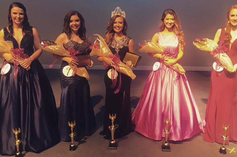 Kalie Davis of Crossville crowned Miss Northeast 2018!
