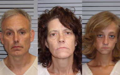 3 arrested after outstanding warrant served in Paint Rock