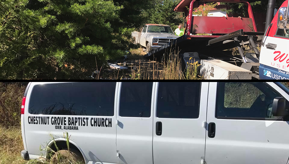 Vehicles stolen on Sand Mountain located