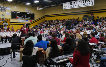 VIDEO: FPHS holds annual Veteran's Day Program