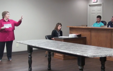 VIDEO: Tempers flare at the Rainsville Council