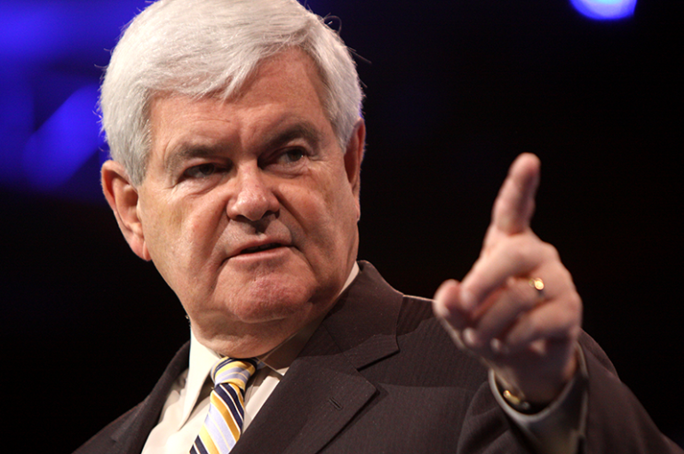 Gingrich endorses Moore for Senate