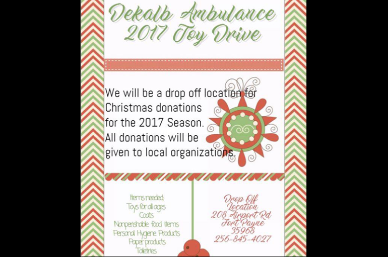 DeKalb Ambulance Service holds Toy Drive for local Children