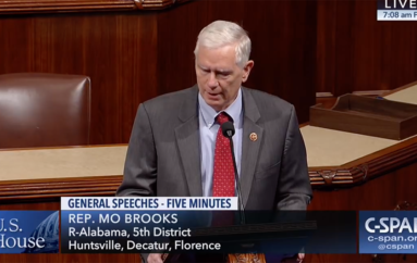 "(VIDEO) Rep. Brooks on cancer: ""God works in Mysterious Ways"""
