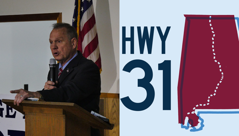 Moore campaign will file suit to stop Democrat Highway 31 Ad
