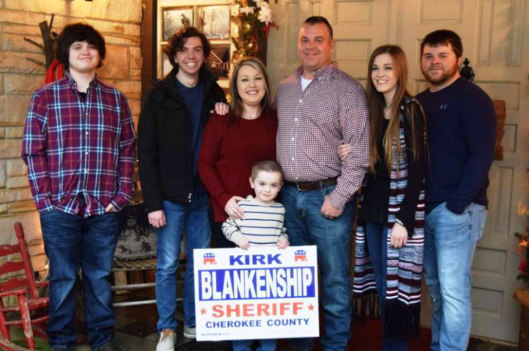 Centre Police Chief Kirk Blankenship challenging Sheriff Shaver in 2018