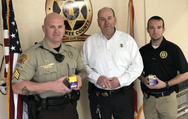 District Attorney gives life saving opioid antidote to Sheriff's Offices