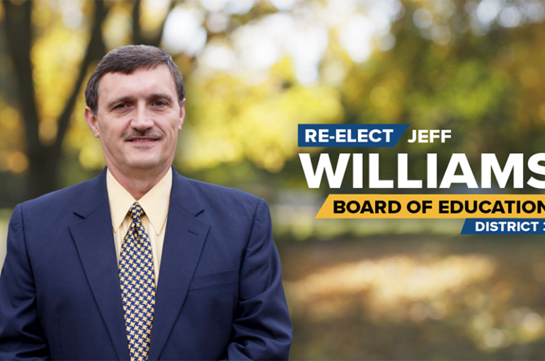 Williams announces he will seek re-election to DeKalb Board of Education
