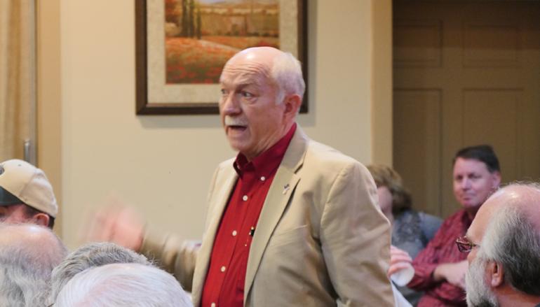 VIDEO: Contentious DeKalb Republican Breakfast