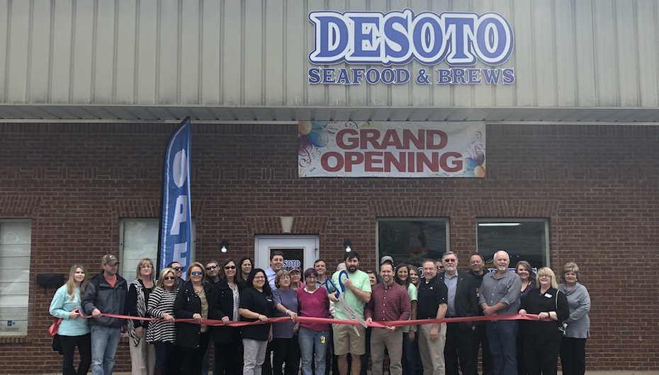 DeSoto Seafood and Brews announces Grand Opening!