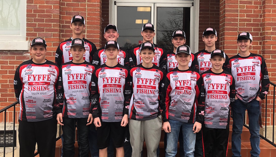 Fyffe Fishing Team is off to a Successful Start