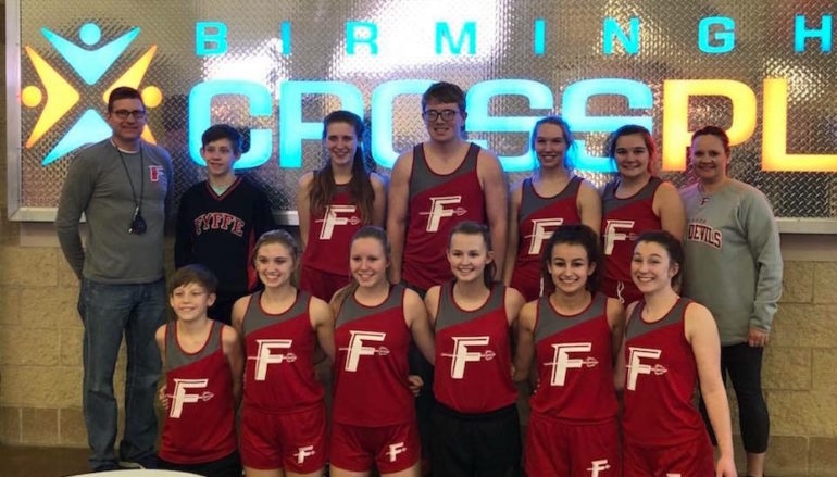 Fyffe Track Team on the Move