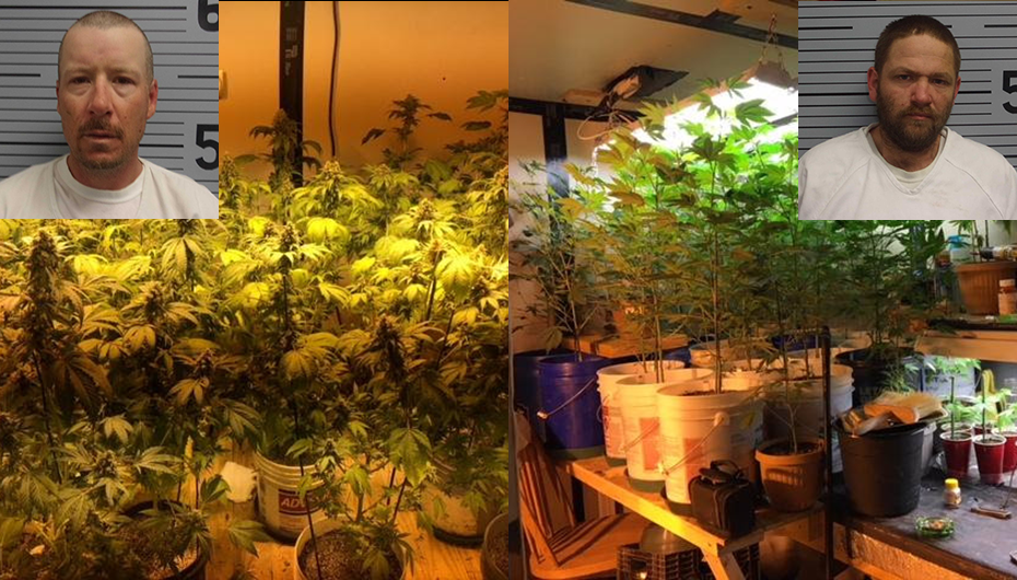 Two in Bryant barricade themselves in with Marijuana Grow